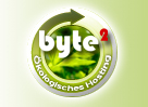 Powered by byte2 - managed server - �kologisches Hosting